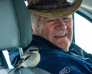 Fred Ramsey and Loggerhead Shrike